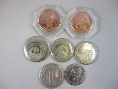 7 Alamaba Commemorative Medals 150 Years