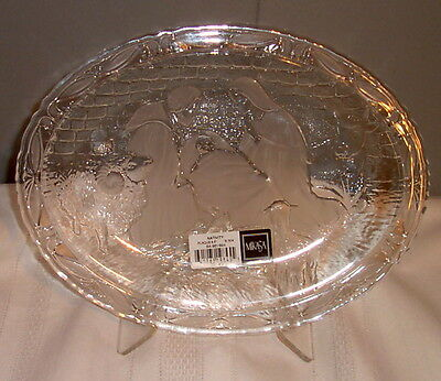 Mikasa NATIVITY Plaque Frosty Design made in Germany