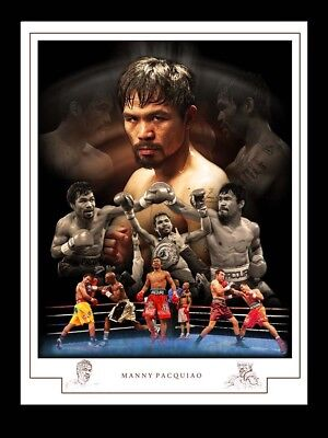Manny Pacquiao Montage Print