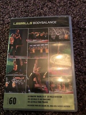 les mills Body Balance 60 DVD Cd And Notes