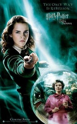 Screen matched Hermione Grainger stunt wand movie prop Order of the Phoenix