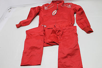 New Bell Pro Drive Single Layer Suit - Red - Large