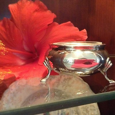 Vintage Tiffany & Co. Sterling Salt Cellar England/PRICE REDUCED as of 08/30/17