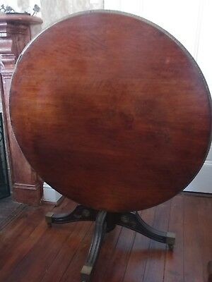 "Antique Empire Flip Top Table Round (40"") -  28.5"" Tall"