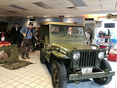 1951 Willys Other MC38 M38 4x4 army jeep 1951 Willys Jeep MC 38 M 38 Military Army Restored MUST SEE VIDEO 1950 1946 1941