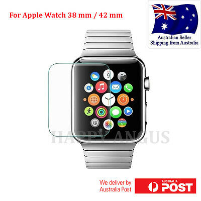 Tempered Glass Protector Film / Plastic Protector For Apple Watch 38mm 42mm