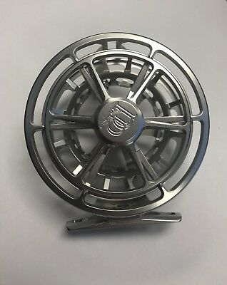 NEW Ross Evolution R Fly Reel - 5/6 - Platinum Finish - WRONG SPOOL AS-IS