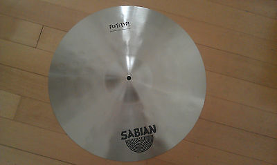 "Sabian Prototype 19"" HHX Crash Crash Ride"