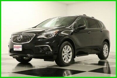 2017 Buick Envision Essence Heated Leather Camera 2017 Essence Heated Leather Camera New 2.5L I4 16V Automatic FWD SUV Moonroof