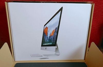 "Apple iMac 27"" (2017 Model) Box + Inserts - Low Starting Price"