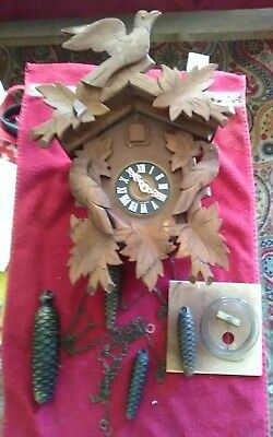 regula cuckoo clock made in germany,for part,fixe