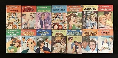 Harlequin Romance Novels Nurse Doctor 1960's- 70's Vintage Lot Of 14