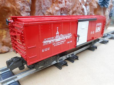 S Gauge American Flyer - NTTM 1981 TCA Museum Glossy Red Boxcar - MIB-NOS