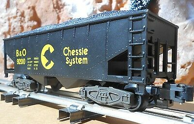 S Gauge American Flyer  -  CHESSIE HOPPER CAR w/ Coal Load -  NIB / NOS