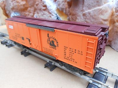 S Gauge American Flyer - N.A.S.G 1988 NEW JERSEY CENTRAL LINES Box Car - MIB-NOS