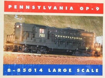 Large G Scale Lionel 8-85014 PENNSYLVANIA GP-9 / Command Ready - MIB /  C9+