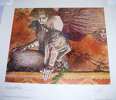 Sibyl by Barry Windsor Smith Art Print Signed Numbered Gorblimey Press 1981