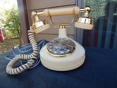 "Vintage Western Electric ""Princess"" Rotary Dial Telephone"