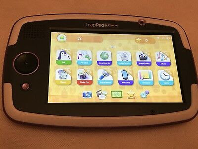 Leapfrog Leappad Platinum with Original stylus And Charger(Purple White ) 1013