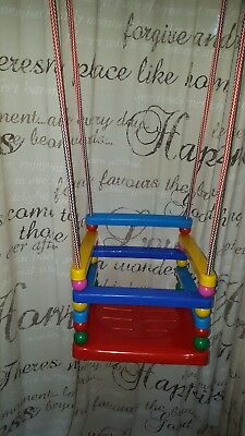 Toddler Swing indoor outdoor great for indoor entertainment for upcoming winter