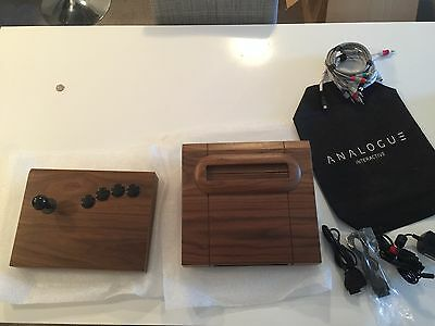 Neo Geo Analogue Interactive CMVS Walnut!!! Extremely Rare True Collectors Item