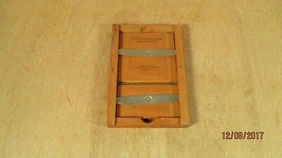 Antique Cabinet Card Photograph Photo Frame Eastman Printing Wood Wooden Frame