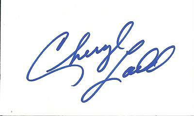 Cheryl Ladd Charlie's Angels Signed Card