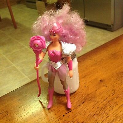 Vintage Mattel She-ra Princess Of Power Glimmer Doll complete with staff