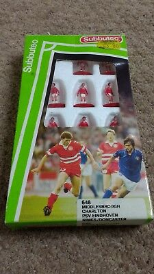 Subbuteo 648 Middlesbrough Charlton PSV Nimes Doncaster Player Set