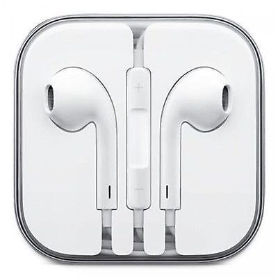New Earphones Headphones Handsfree With Mic For iPhone 6 6S 5s  5C iPad iPod