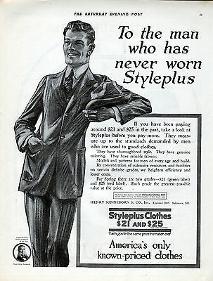 1918 Styleplus Clothes ad ---=443