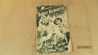 1955 Vintage The Story of Hohner Harmonicas and How to Play Them Booklet