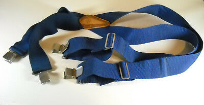 Work Suspenders by McGuire-Nicholas with Steel Clips