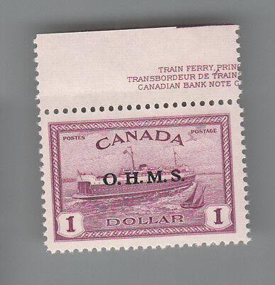 CANADA # O10  MNH  Official O.H.M.S. MOG NH...2 scans