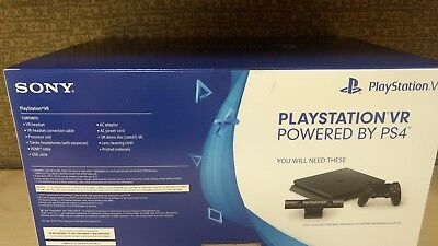BRAND NEW Sony PlayStation VR Headset Core Set Free Shipping