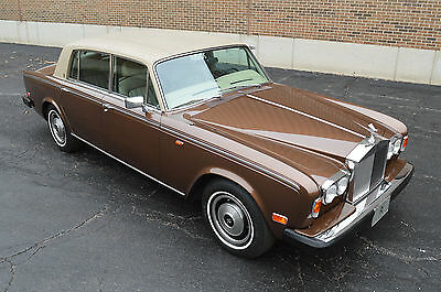 1980 Rolls-Royce Silver Shadow - Wraith II, Fuel Injected model Rare fuel injected model with low 33,000 miles, 1 family ownership.