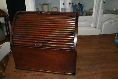 Large Victorian Mahogany Stationery Box - Hidden Compartments ?