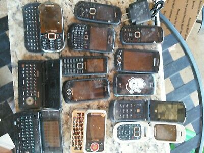 Scrap cell phones lot. untested AS IS.