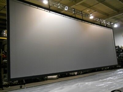 SCREEN WORKS REAR PROJECTION SCREEN 15ft X 45ft   #1