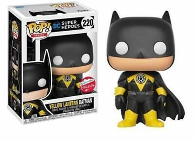 Funko Pop! NYCC 2017 DC Yellow Lantern Batman Fugitive Toys Exclusive Sold Out *