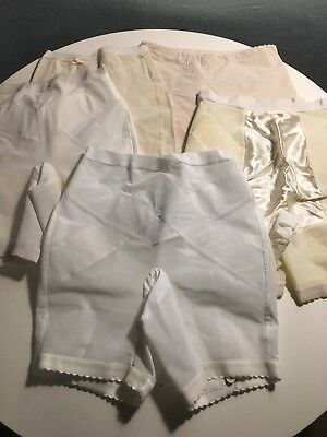 Lot Of 5 Vintage 50's And 60's Girdles