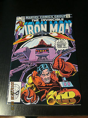Invincible Iron Man #169 April 1983 Dusty Rhodes replaces Tony Stark - Marvel.
