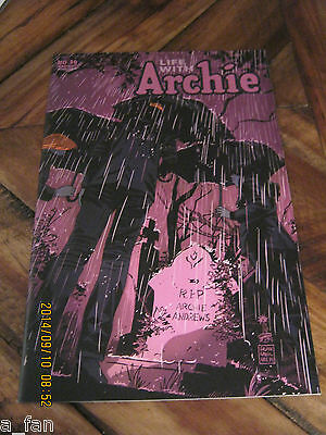 Life With Archie The Married Life # 36 B Francisco Francavilla Variant Sept 2014