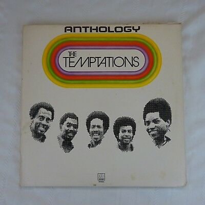 The Temptations Anthology ~ 10th Anniv Special Triple Record Set   Motown 1973