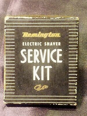 Vintage Remington Electric Shaver Service Kit-with Original Box and Instructions