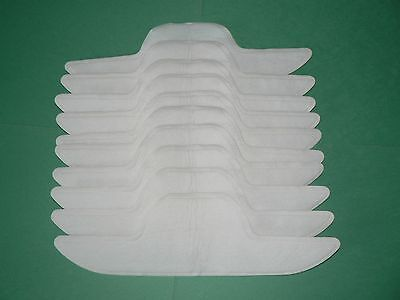 Brand New 10-5pairs Sweat Collar  STAIN CLOTHING Absorbing Pads Skirt Tie GUARD