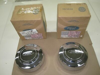 1992-1997 Ford F150, F250, F350 hub caps, for factory wheels, NOS