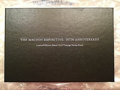 2017 Machin 50th Anniversary Limited Edition Prestige Booklet Royal Mail Only500