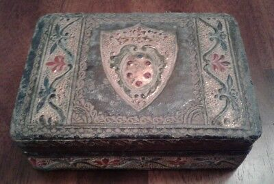 Vintage Wooden box, made in Italy