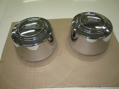 1992-1997 Ford F150, F250, F350 hub caps, for factory wheels, used